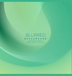 Blue vintage abstract blurred wavy background vector