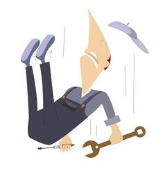 Falling worker vector