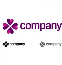 romantic logo vector image