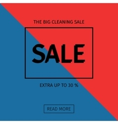 Sale templates with discount offer vector