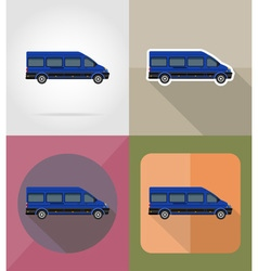 Transport flat icons 11 vector