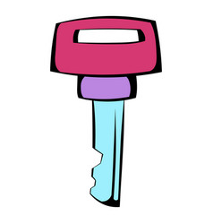 ignition key icon icon cartoon vector image