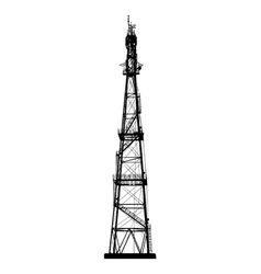 Telecommunications tower vector