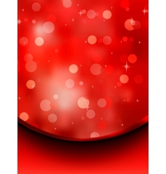 Glitter holiday card template vector