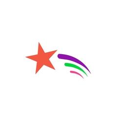 Comet icon vector