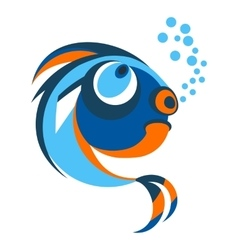 fish from coral reefs vector image vector image