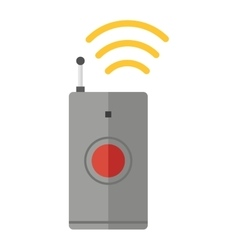 Remote control device icon isolated vector