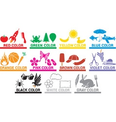 Learning colours vector