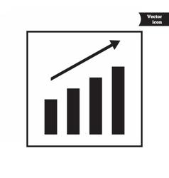 Business progress diagram vector image