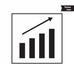 Business progress diagram vector image