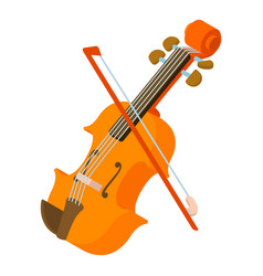 contrabass icon isometric style vector image
