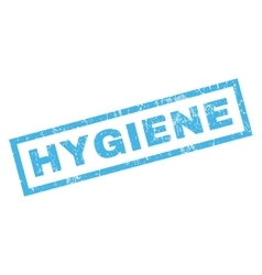 Hygiene rubber stamp vector