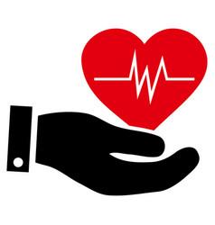 Cardiology icon vector