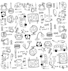 School education hand draw doodles vector