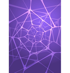 Abstract glowing indigo background vector