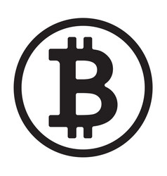 Crypto currency symbol vector
