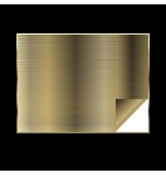 Golden gradient background vector