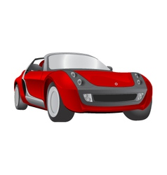 smart roadster vector image vector image