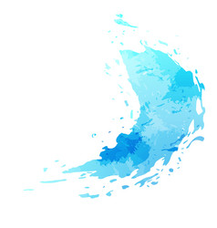 Splatter paint stain abstract background vector