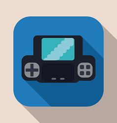 Videogames design vector image vector image