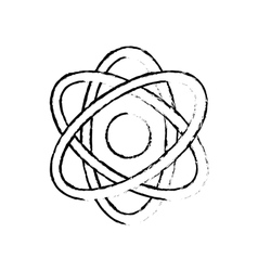 Atom science molecule vector