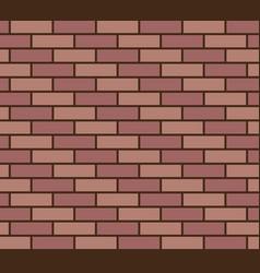 brick wall seamless texture vector image