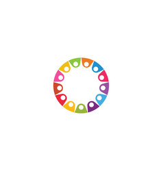 Community network and social icon design vector