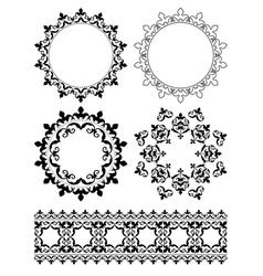 decorative design elements - ornaments vector image