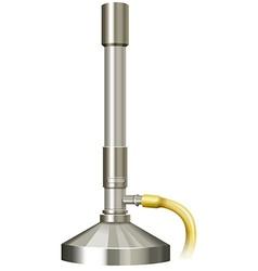 Lab burner with rubber hose vector