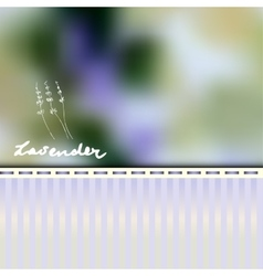 Lavender retro background vector