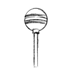 Lollipop candy isolated vector
