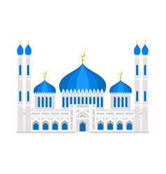 cathedral muslim church temple traditional vector image
