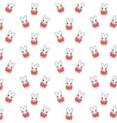 Bunny pattern vector