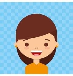 Female avatar design vector