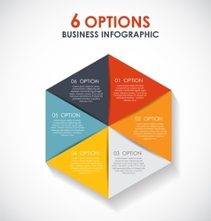 Infographic Templates for Business EPS10 vector image