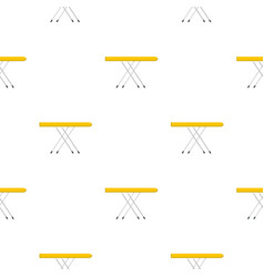 Ironing board pattern flat vector