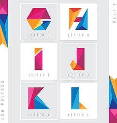 Lettering colorful design elements vector