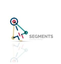 Arrow icon logo company branding element vector