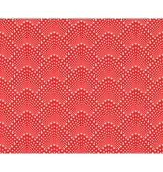 Seamless pattern with dotted scales vector
