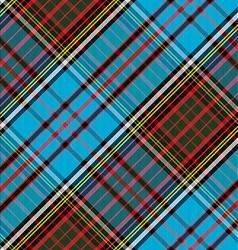 Tartan clan anderson diagonal seamless vector