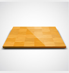 Parquet wood floor vector