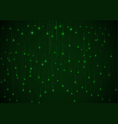 technology binary background vector image