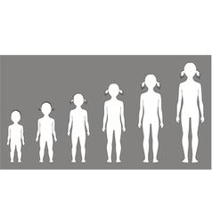 Child figure vector