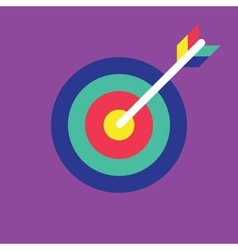 Archery icon target icon vector