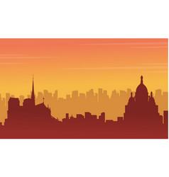 city france beauty landscape vector image
