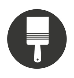 Brush paint supply icon vector