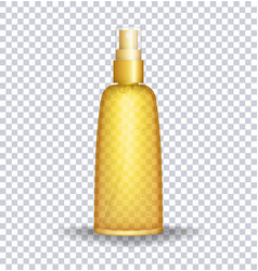 sun block lotion container sun care oil vector image