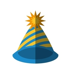 hat party icon image vector image