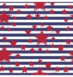 Seamless patterns with american symbols vector