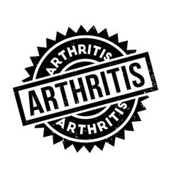 Arthritis rubber stamp vector